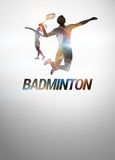 Badminton background Royalty Free Stock Photos
