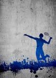 Badminton background Stock Photography