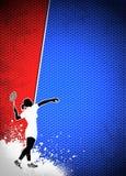 Badminton background Stock Images