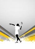 Badminton background Royalty Free Stock Photo