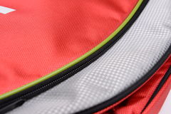 Badminton bag zipper Stock Image
