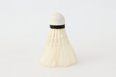 Badminton ball. Badminton ball on a white background Royalty Free Stock Image