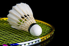 Badminton and battledore Royalty Free Stock Photography