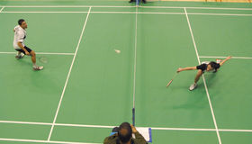 - badminton Baxtera eng zdjęcia royalty free