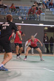 Badminton championship Stock Images