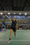 Badminton championship Royalty Free Stock Photo
