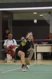 Badminton championship Stock Image