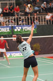 Badminton - Claudia Rivero - P Stockfoto