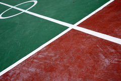 Badminton court Stock Images
