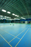 Badminton court Royalty Free Stock Photography