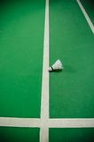 Badminton court Royalty Free Stock Photography