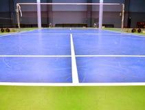 Badminton court Stock Images