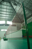 Badminton court Stock Photos