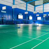 Badminton courts Royalty Free Stock Images