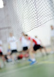 Badminton courts Royalty Free Stock Photography