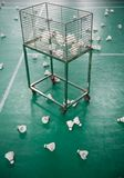 Badminton courts Stock Images