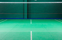 Badminton courts Standard Stock Images