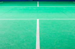 Badminton courts Standard Stock Photography