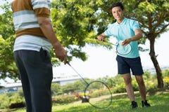 Badminton d'été Photographie stock