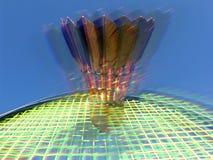 Badminton de brilho Fotos de Stock Royalty Free
