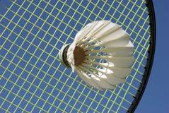 Badminton do close-up foto de stock royalty free