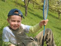 badminton dziecka kant Obraz Royalty Free