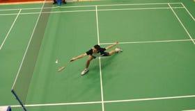 Badminton - ENGLISCH Karl-Baxter Lizenzfreie Stockfotografie