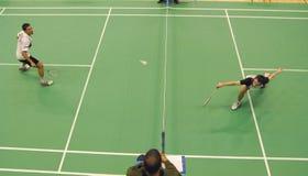 Badminton - ENGLISCH Karl-Baxter Lizenzfreie Stockfotos