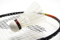 Badminton equipment Royalty Free Stock Image