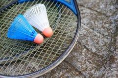 Badminton equipment Stock Photos