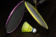 Badminton equipment Stock Photography