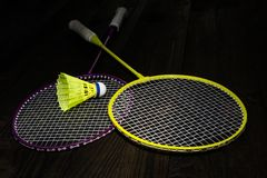 Badminton equipment Stock Images