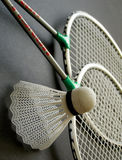 Badminton equipment photography Stock Image