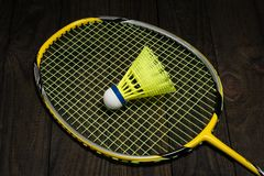 Badminton equipment Royalty Free Stock Images