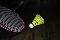 Badminton equipment Royalty Free Stock Photo
