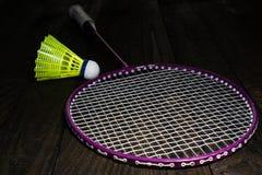 Badminton equipment Stock Photo