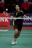 badminton Eric ssanie w żołądku gracza wierzchołek Obraz Royalty Free