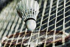 Badminton fantasy all over Stock Photo