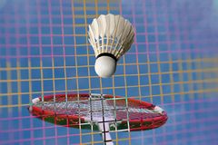 Badminton fantasy all over Royalty Free Stock Images