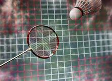 Badminton fantazja all over Obrazy Royalty Free
