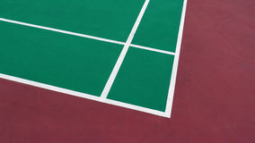 Badminton field Royalty Free Stock Photography