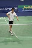 badminton gade hoeg mężczyzna Peter s przerzedżą Obrazy Royalty Free