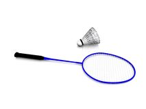 Badminton gear. Royalty Free Stock Photography