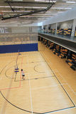 Badminton hall in Hang Hau Sports Centre Royalty Free Stock Images