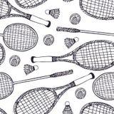 Badminton i tenis Obraz Stock