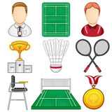 Badminton Icon - Sport Royalty Free Stock Images