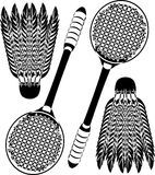 badminton ikony Obraz Stock