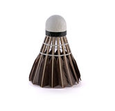 Badminton item, Black shuttlecock Stock Photography