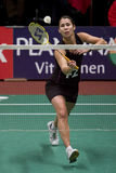 badminton Judith meulendijks gracza wierzchołek fotografia stock