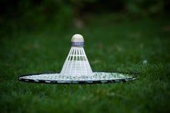 Badminton kant i shuttlecock Obraz Stock